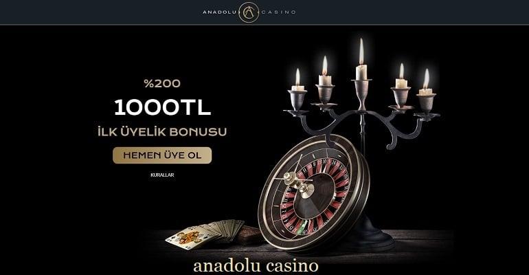 anadolu casino bonuslari